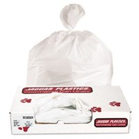 "Extra-Heavy White Can Liners 38"" x 58"" (100)"
