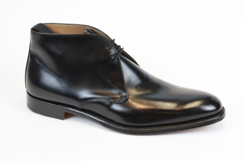 Cheaney Shadwell Black Calf