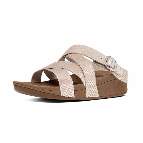 FitFlop The Skinny Criss Cross 423 Silver
