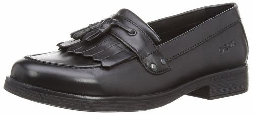 Geox J Agata A J4449A C9999 Black Leather