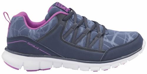 Gola Ala612Ev Lu Navy Purple