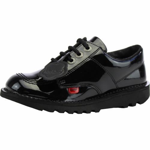 Kickers Kick Lo Y 113499 Black Patent