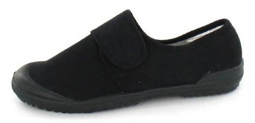 Kidder Velcro Black