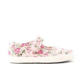 Start-Rite Posy 68818 Pink Floral Canvas