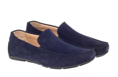Steptronic Dustin Navy Suede