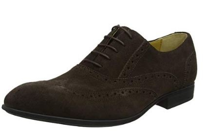 Steptronic Finchley Brown Suede