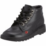 Kickers Kick Hi Jnr 1KF409BTW Black