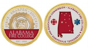Gold Challenge Coin