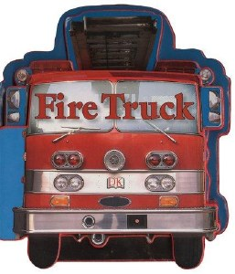 Shaped Board Fire Trucks