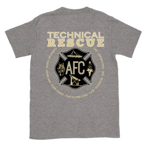 T-shirt Rescue Tech Gray M