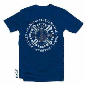 T-shirt Maltese Cross Navy S