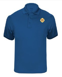 Royal Blue Elbeco Tactical Polo