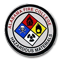 Alabama Fire College Hazardous Materials Decal