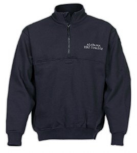 Navy Blue Job Shirt with AFC Text Logo