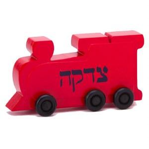 Chuggles Tzedakah Train - Red