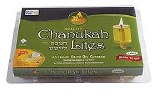 Chanukah Lights - Medium Round