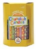 Dreidel Art Chanukah Candles