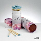 Shabbat Matches, Pink 60 Long