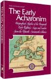 Early Acharonim