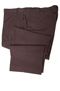 Savane Microfiber Flat Front Pants