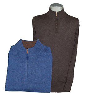 Maker & Co. 1/4 Zip Merino Wool Sweater XLT
