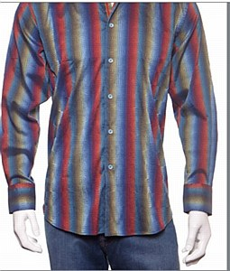 Luchiano Visconti kaleidoscope Long Sleeve Sport Shirt