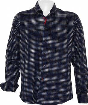 Luchiano Visconti  Box Long Sleeve Sport Shirt