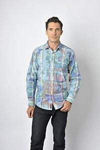 Luchiano Visconti Tie-Dye Long Sleeve