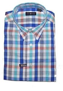 Summerfields Royal Check Short Sleeve