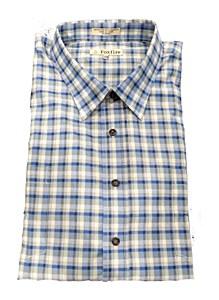Foxfire Plaid SS Sport Shirt