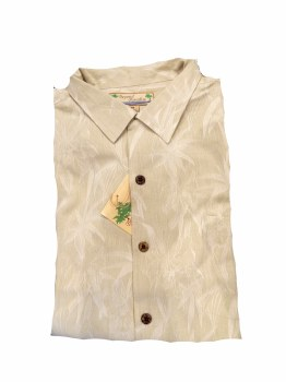 Beyond Paradise Short Sleeve Camp Shirt
