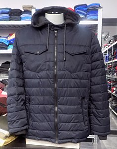Buffalo Quilted Twill Jacket