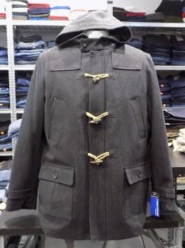 Nautica Hooded Wool Coat