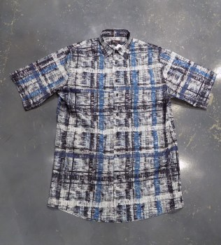 Jon Randall Abstract Long Sleeve Sport Shirt