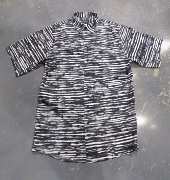 Jon Randall Zebra Long Sleeve Sport Shirt