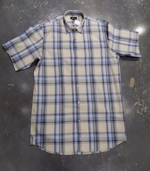 Jon Randall Horizon Dobby Plaid Long Sleeve Summer Shirt