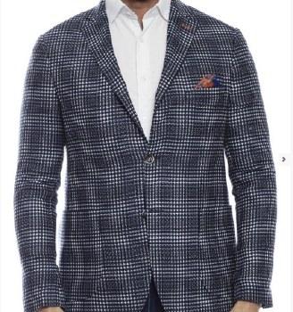 Luchiano Visconti Check Sport Coat