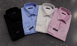 Summerrfields Solid Stertch Dress Shirt