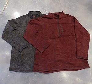 FX Fusion 1/4 Zip Stretch Knit Sweater