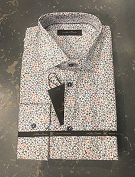 Klauss Boehler Flower Long Sleeve Sport Shirt