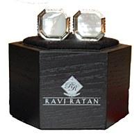 Ravi Ratan Genuine Stone Cuff Links