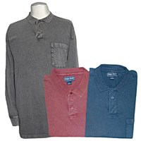 Indygo Smith Vintage Long Sleeve Polo