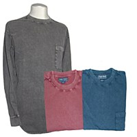 Indygo Smith Vintage Crew Neck Long Sleeve Shirt