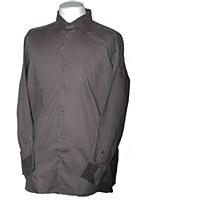 London's Big and Tall  Tone on Tone Long Sleeve Dress Shirt