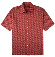 Tori Richard Cotton Lawn Short Sleeve Shirt