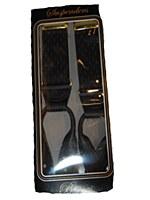 Big & Tall Diamond Jacquard Button On Suspender