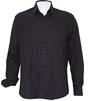Luchiano Visconti Herringbone Long Sleeve Sport Shirt