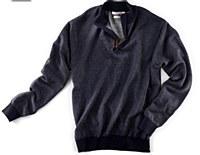 Peter Millar Birdseye Quarter-Zip Sweater