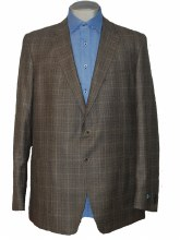 Biella Collection Plaid Sport Coat