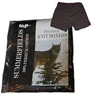 Summerfields Two Pack Knit Boxers